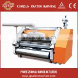 duplex paper board packing production line ,corrugated cardboard single facer machine