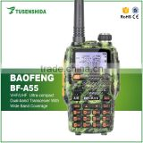 Long Distance Baofeng BF-A55 Handheld hf Ham Transceiver Radio Army Green Walkie Talkie