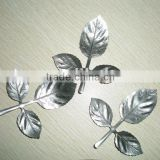 Stamping Rose Leaf / Steel Leaves