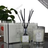 luxury reed diffuser and Scented candle in beautiful gift box                                                                         Quality Choice