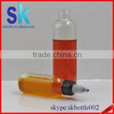 30ml pet bottles for e liquid with twist off cap,plastic dropper bottles for e cigarette oil