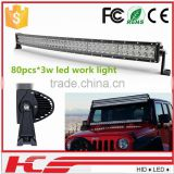 Best Auto Electrical System 41.5'' Led Offroad bar light 240w Off Road Led Light Bar For Trucks