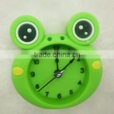 2014 silicone table clock, Alarm clock, Silicone table watch animal shape