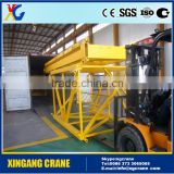 Hot sale!!lfactry price QTZ63 moving mobile traveling mini fast self erecting luffing steel mast tower crane 6ton for sale