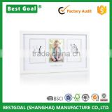 Wood Baby Prints Photo Frame with Clean-Touch Ink Pad                                                                         Quality Choice