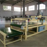 Economic semi-automatic folder gluer machine/carton box folding gluing machine/corrugated box folder gluer