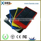 2600mAh Solar Charger External Battery Pack solar Power Bank For Cellphone iPhone 4 4s 5 5S 5C iPad iPod Samsung