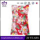 cotton fabric flower set beach towel latest design hoem textile bath towel China manufacture