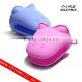 silicone oven mitt heat protection silicone pot handle holder
