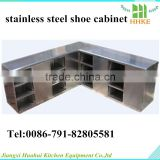 Best price for stainless steel shoe rack for big shoes for sale in cleaning room