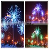 7m Beautiful Festival Display LED Fireworks Light
