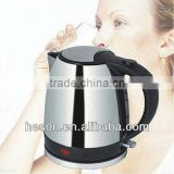 hotel appliance 1.2Liter Strix controller electric whistling kettlew with water level indicator