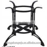 HS-A085B restaurant furniture metal cast iron table leg black powder coating table base new table leg bracket strong