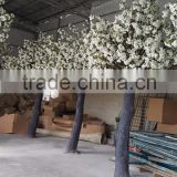 cheap price factory direct sale artificial white cherry blossom tree for wedding decoration with quality guarantee