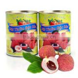 Vietnam Canned Fruits Lychee in Syrup