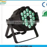 New Productions 18*10w waterproof led par can rgb /rgbw stage disco light dj light bar light