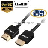 Ultra HDMI 2.0 Cable HDTV for LED LCD PS4 V2.0 3D 2160P 4K X2K XBOX BLURAY DVD V2.0