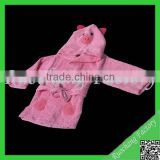 Promotional animal baby bathrobe&egyptian cotton bathrobe&fleece bathrobe
