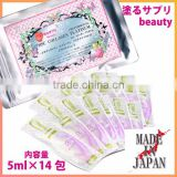 Beauty and whitening collagen-containing cosmetic Nuru-sapuri with moisturizing made in Japan