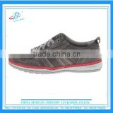 grey outdoor leather casual shoe for man , high quality comfortable casual shoe, hot sale wholesale price men's casual shoe
