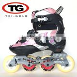 High quality inline skate roller skates shoes Carbon ABEC-7 wheel 76mm PU China manufacture