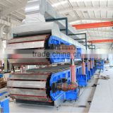 Hot sale! Sandwich panel machine- hot press melamine laminating machine/heat press laminator/press laminator