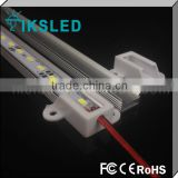 DC24V smd 5730/5630/5050/7020 waterproof rigid led bar U V aliminium 2 year warranty