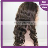 Human hair brazilian full lace wig wholesale 7A silk base in stock