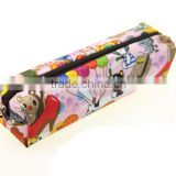 Waterproof Oxford cloth cute pencil case, large capacity Cartoon pencil bag, creative stationery bags
