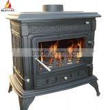 2014 Hot Sale14kw Cast Iron Wood Burning Stove with Bolier                                                                         Quality Choice