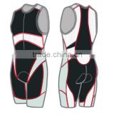 2015 Full Sublimation Custom Made Professional Wholesale Plus Size Digital Sublimation Compressio Triathlon Suit