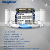 KingDian Lowest price half slim internal SSD Solid State Disk 16GB H100 16GB SSD