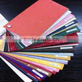 iron oxide red Corrugated art paper china