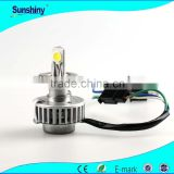 2 years warranty h4 for led headlight canbus 12V-24V 3000lm canbus alarm to truck