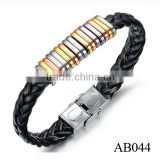 Factory Price Leather Bracelet,Charm Bracelet Jewelry,Fashion Magnetic Bracelet For Men
