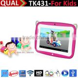 Kids 4.3 inch Android Tablets PC 480*272 lcd 4.3 tab pc gift for baby and kids tab pc China Supplier C