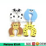 Melors Custom cute baby EVA door stopper animal dog shape door stop guard, EVA foam OEM design door stopper