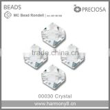 Clear Crystal MC Rondelle Beads Preciosa Glass Stone Art.45169302