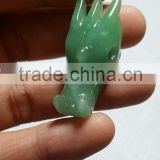 Wholesale Small Size Natural Crystal stone Carving Dragon Skull for decoration