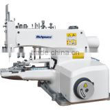 High quality Richpeace 33-needle Flat-bed Double Chain Stitch Smocking Sewing Machine with Shirring