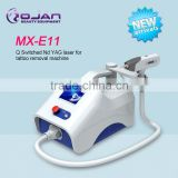 0.5HZ MX-E11 Tattoo Removal Freckle Removal Equipment/machine Q-switched Telangiectasis Treatment Nd Yag Laser / Laser Tattoo Removal Victory Q Switch Laser Tattoo Removal Machine