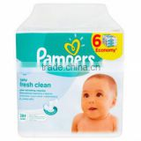 PAMPERS 6x64PCS Baby Fresh Wet Wipes