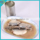 Canned mackerel in chilli oil bulk canned fish