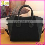 Black Lady Women's Handbag Smile Face Tote Bag Shoulder Satchel Messenger Bag New