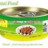 China Cheap Canned Food Canned Curry Chicken Balls