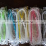 Wholesale hookah shisha hose with Customized length ,Logo colorful disposable hookah hose