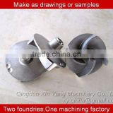 CNC machining & lathe machining water micro gear pump impeller in mechanical parts&fabrication services