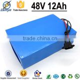 China Manufacturer OEM Rechargeable 48V 12Ah rechargeable battery pack for home appliances E-Bike