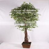 LXY082423 wholesale artificial plants and trees cheap artificial ficus trees fake banyan bonsai