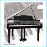 Black stoving varnish finish hammer action keyboard digital grand piano electric piano digital piano